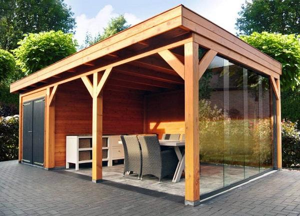 Wood and Garden Overkappingen, Veranda's en tuinhuizen | Douglas overkapping